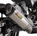 AKRAPOVIC SLIP-ON SILENCER(RC125)