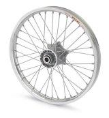 フロントホイール エキセル/Front wheel EXCEL silver