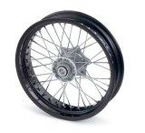 """フロントホイール/ wheel black 3.5×16,5"""""""