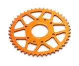 Rear sprocket aluminium orange